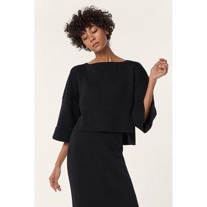 [Mara Hoffman] Eva Oversized Crop Merino Sweater